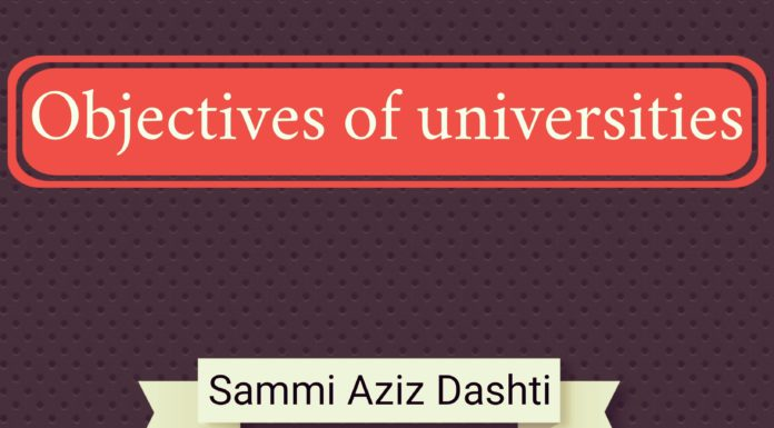 Objectives of Universities