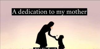 A deication to my mother Khadija Kurd