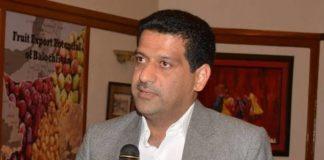 Provisional minister Zahoor Ahmed Buledai
