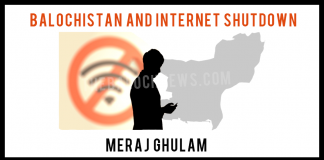 Balochistan and Internet Shutdown