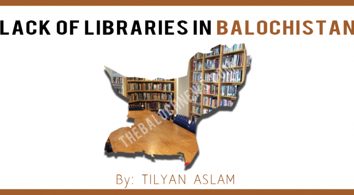 Lack of libraries in Balochistan
