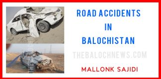 Road accidents in Balochistan 2021 Mallonk Sajid - The Baloch News