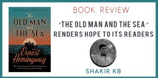 """The Old Man and the Sea"" renders hope to its readers Shakir KB The Baloch News"