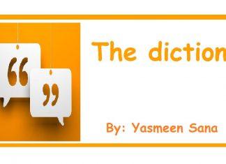 The diction By Yasmin Sana The Baloch News