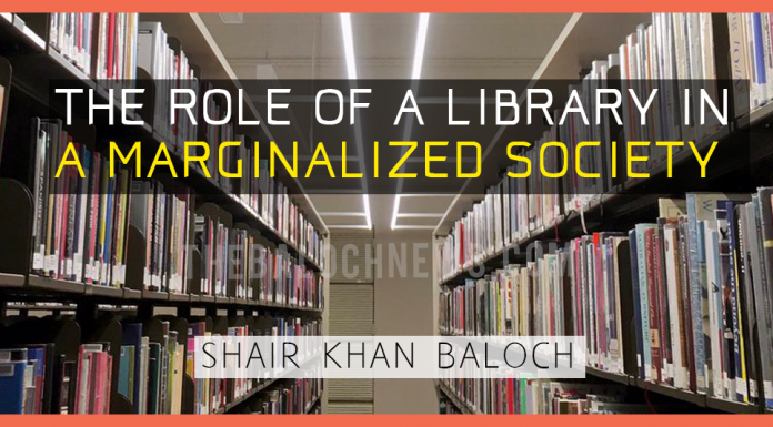 The role of a library in a marginalized society