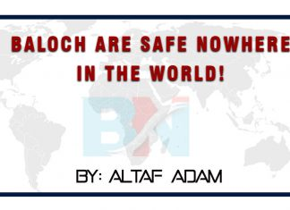 Baloch are safe nowhere in the world thebalochnews.com (1)