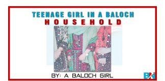Teenage Girl in a Baloch household By a Baloch Girl