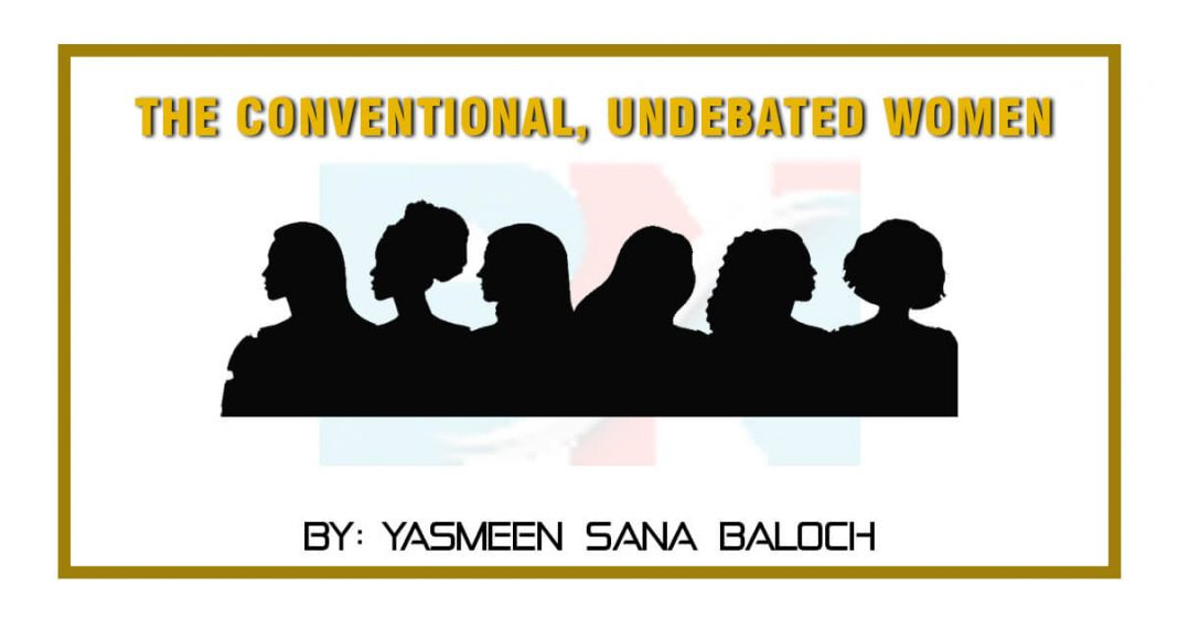 The conventional undebated Women