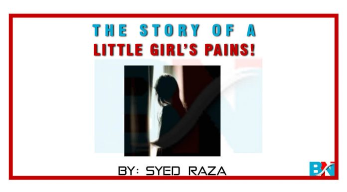 The story of a little girl's pains!