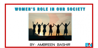 Womens Role In Our Society by ambreen bashir