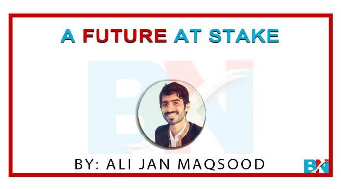 a future at stake by ali jan maqsood