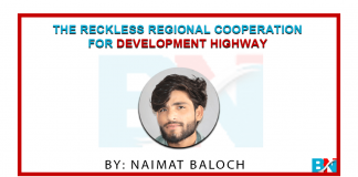 The Reckless Regional Cooperation for Development Highway